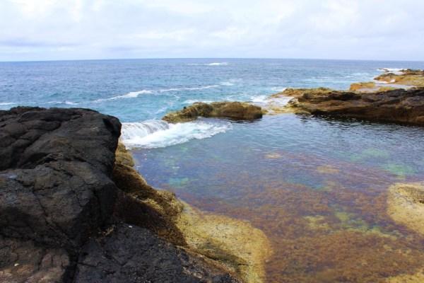 foto piscinas naturales en mosteiros isla Sao Miguel